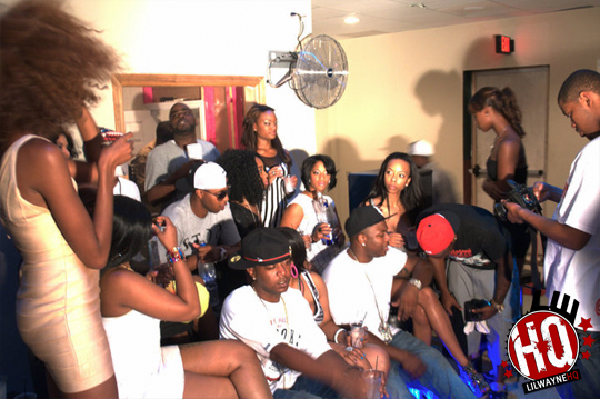 Pictures On The Set Of Lucci Lous Bitch Im From New Orleans Video Shoot