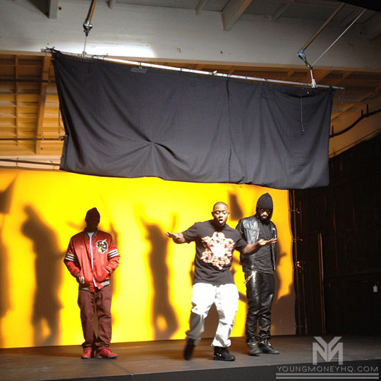 Mack Maine Shoots A Music Video For Celebrate Featuring Lil Wayne & Talib Kweli
