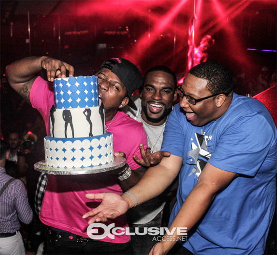 Mack Maine Celebrates His Birthday At CAMEO With DJ Stevie J & Troy J