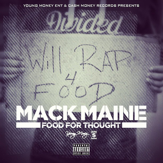 Artwork For Mack Maine Food For Thought Mixtape