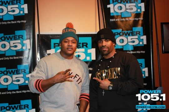 Mack Maine Visits DJ Self & DJ Clue From Power 105.1