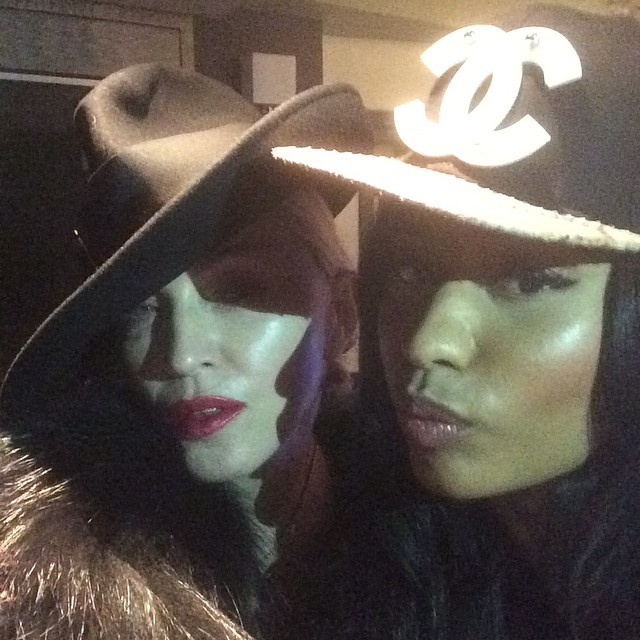 Nicki Minaj Reveals Her & Madonna Have A Secret Coming Soon