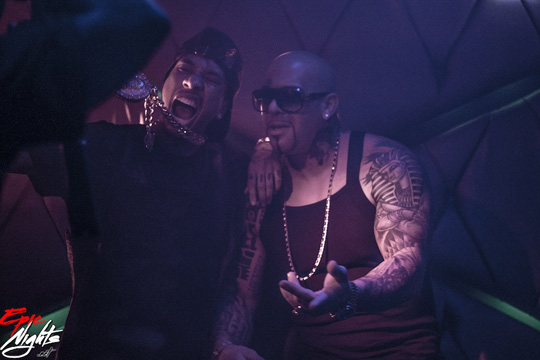 On Set Of Mally Mall, Tyga & Wiz Khalifa Drop Bands On It Video Shoot