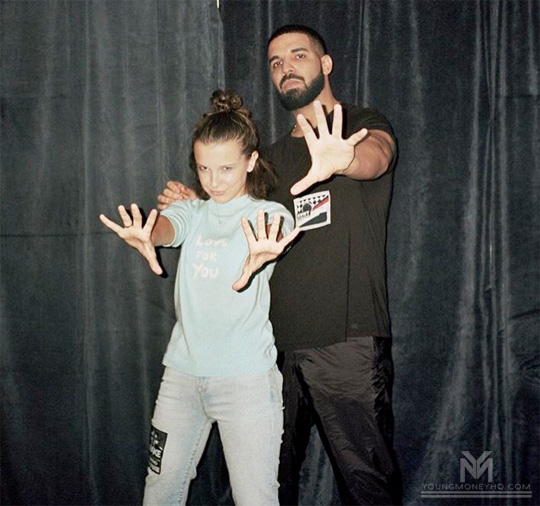 Millie Bobby Brown Speaks On Meeting Drake & Him Having A Fanboy Moment
