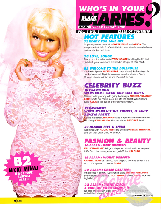 Nicki Minaj Scans From Right On Magazine