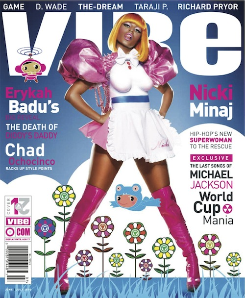 Nicki Minaj Covers Vibe Magazine June July Issue