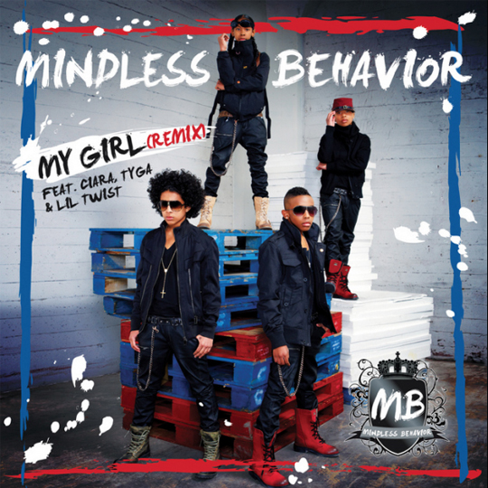 Mindless Behavior My Girl Remix Feat Tyga Lil Twist & Ciara Single Cover