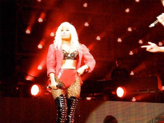 Nicki Minaj Performs At 2012 OVO Festival In Toronto