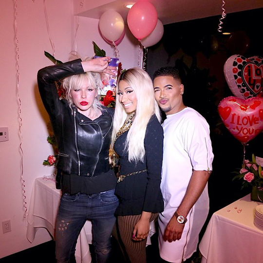 Nicki Minaj Celebrates 31st Birthday In Beverly Hills With Lil Twist, Kylie Jenner & Others