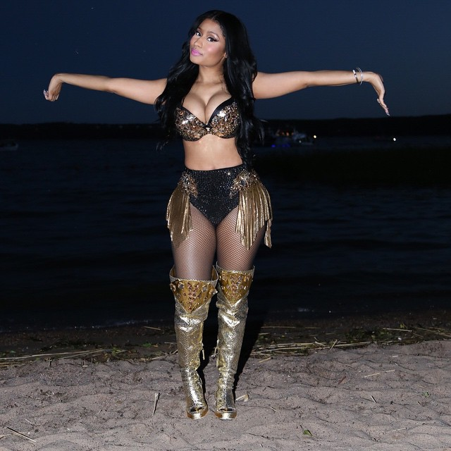 Nicki Minaj Chats About Her Latest Album, Relationship With Meek Mill & More