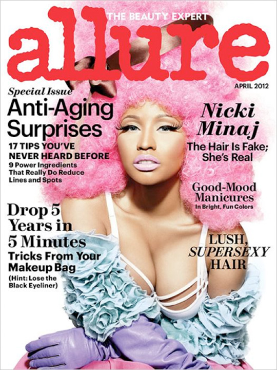 Nicki Minaj Covers Allure Magazine