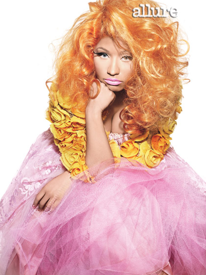 Nicki Minaj Allure Photo Shoot
