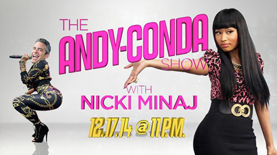Nicki Minaj To Appear On Andy Cohen Watch What Happens Live Talk Show