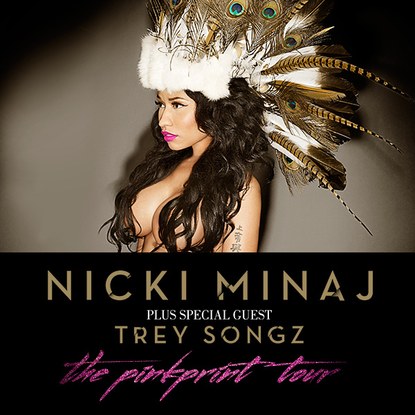 Nicki Minaj Announces European The Pinkprint Tour With Trey Songz