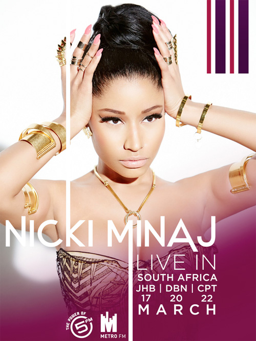 Nicki Minaj Announces A Mini Tour Across South Africa In March