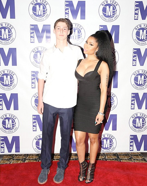 Nicki Minaj Makes A Special Appearance At A Boy Named Matt Bar Mitzvah