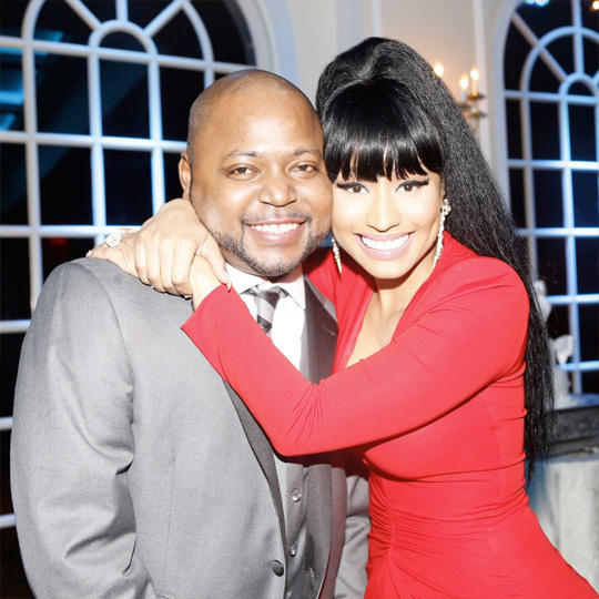 Nicki Minaj Attends Her Big Brother Jelani Wedding