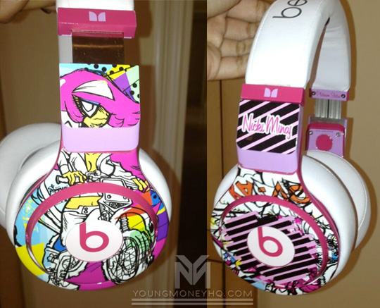 Nicki Minaj Announces When She Will Release Her Pink Beats Earphones & Pro Headphones
