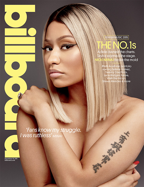 Nicki Minaj Covers Billboard Magazine Issue 38, Talks Politics, A New Mixtape & More