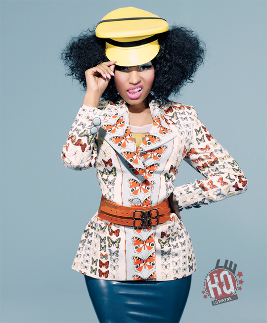 Nicki Minaj BlackBook Magazine Photo Shoot