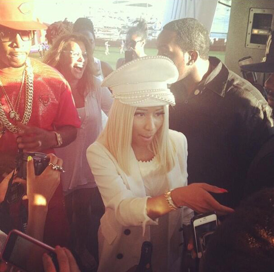 Nicki Minaj Celebrates Independence Day On The Aqua Azul Yacht In New York