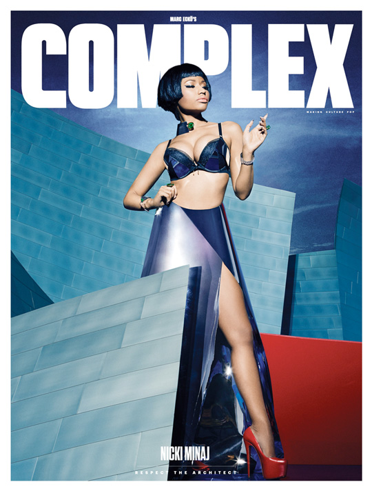 Nicki Minaj Covers Complex Magazine December January Issue