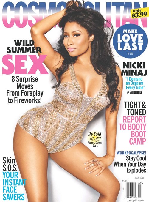 Nicki Minaj Talks Money, Demanding An Orgasm, Her Future & More With Cosmopolitan