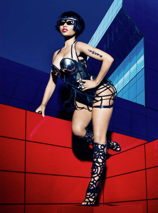 Behind The Scenes Of Nicki Minaj Cover Shoot With Complex Magazine
