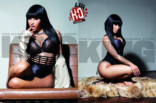 Nicki Minaj KING Magazine Photos. Share and Enjoy: