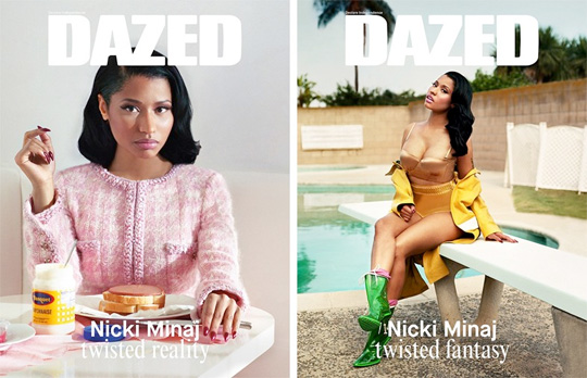 Nicki Minaj Covers Dazed Magazine Autumn Winter 2014 Issue