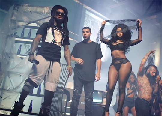 Nicki Minaj, Lil Wayne, Chris Brown & Drake Win An Award At The 2015 BET Awards