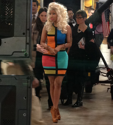 Nicki Minaj Appears On Good Morning America