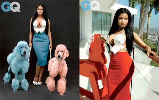 Nicki Minaj Appears In GQ November Issue, Talks Anaconda, Branding, New Look & More