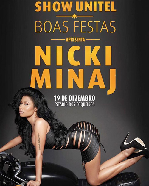 Nicki Minaj To Headline The 2015 Unitel Christmas Festival In Angola