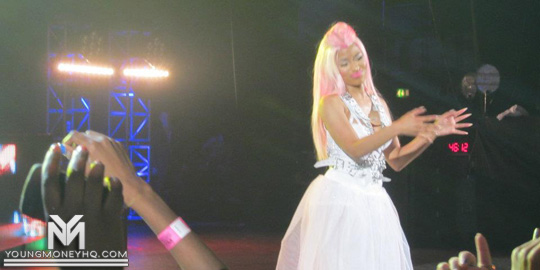 Nicki Minaj Performs At The HMV Hammersmith Apollo In London