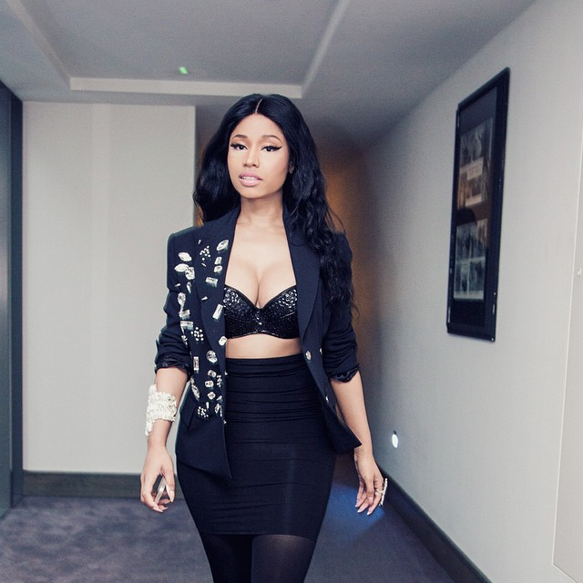 Nicki Minaj Discusses Hosting The 2014 MTV Europe Music Awards & The Pinkprint