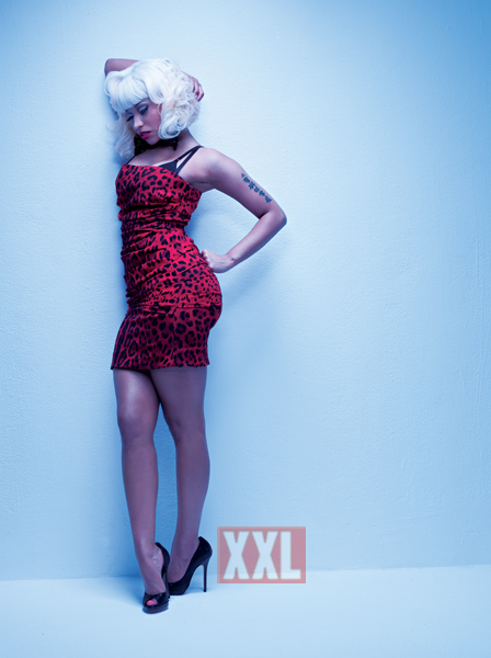 nicki minaj barbie photo shoot. Nicki Minaj XXL Cover