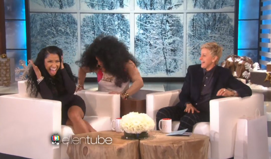 Nicki Minaj Interview & Live Performance With Skylar Grey On The Ellen DeGeneres Show