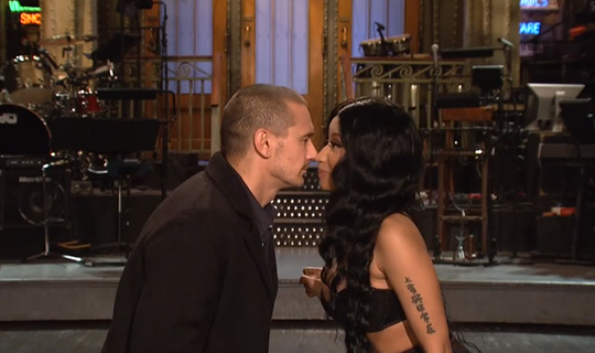 Nicki Minaj & James Franco Appear In Saturday Night Live Promo Clip