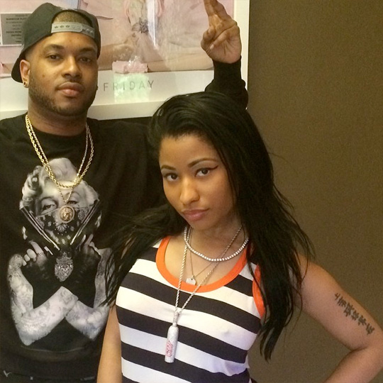 Nicki Minaj & Kane Beatz Hit Up The Studio To Work On Music For The Pink Print