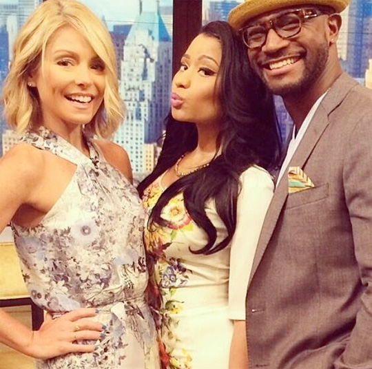 Nicki Minaj Appears On Live With Kelly And Michael To Talk About Pills N Potions & More