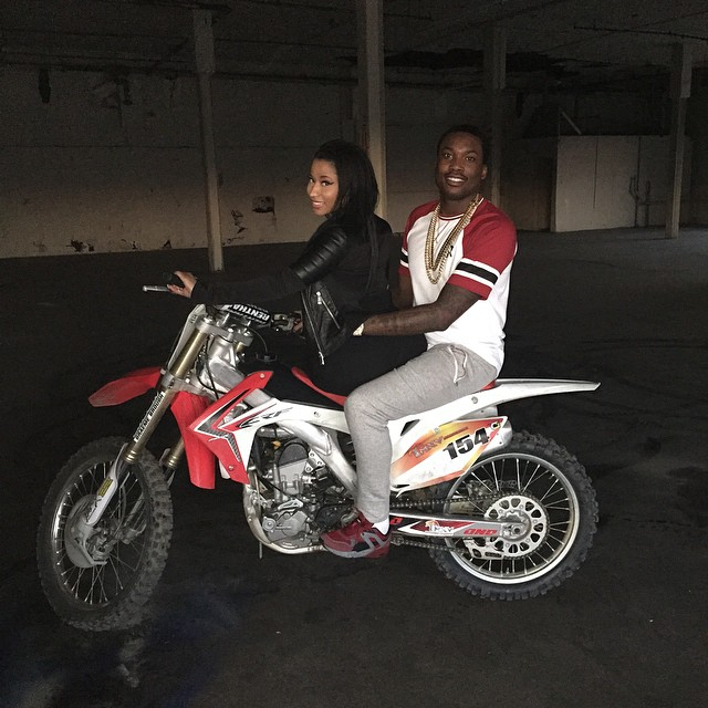 Nicki Minaj Reveals Meek Mill Will Join Her On American Leg Of The Pinkprint Tour