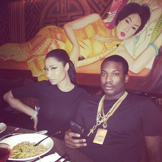 Nicki Minaj & Meek Mill On A Date