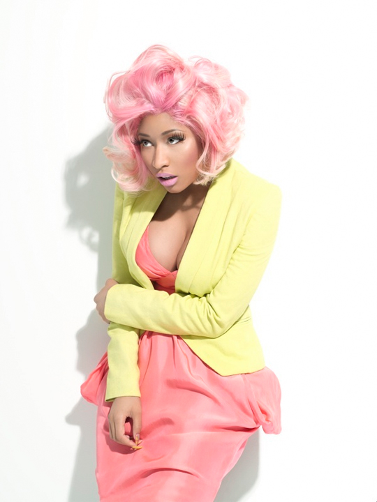 Nicki Minaj Photo Shoot With PAPER Magazine