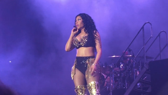 Nicki Minaj Performs Live At The 2015 Festival De Nimes In France