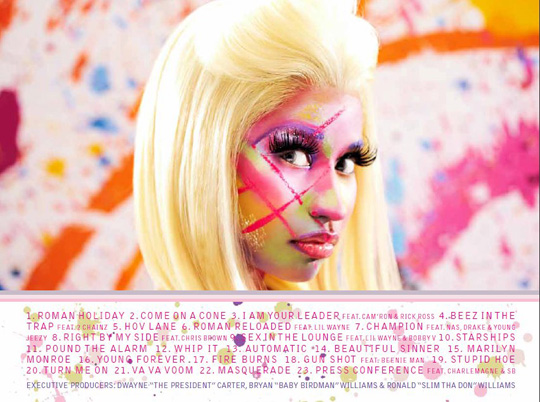 Nicki Minaj Pink Friday Roman Reloaded Album In Stores Now