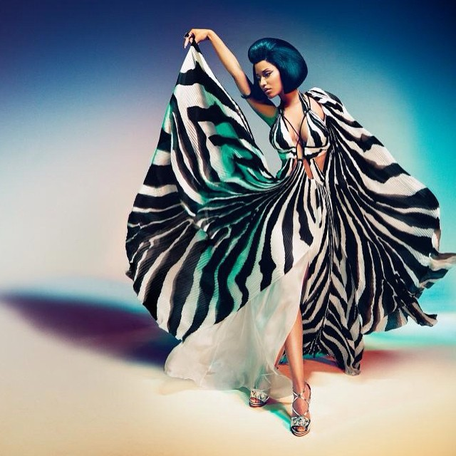 Behind The Scenes Of Nicki Minaj Photo Shoot For Roberto Cavalli Spring Summer 2015 Campaign
