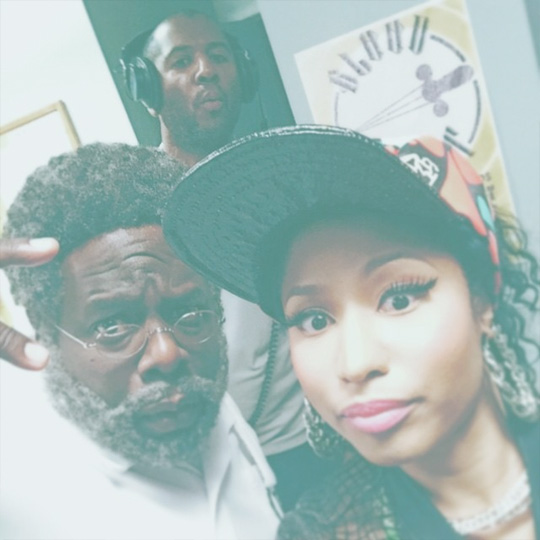 Nicki Minaj Shares Pictures Of Her Final Day On Set Shooting Barbershop 3