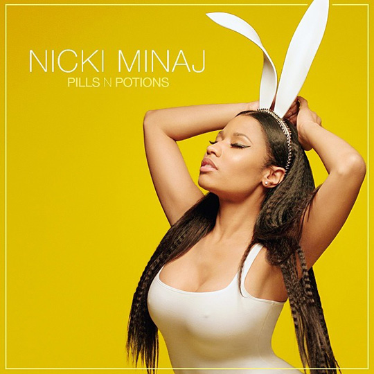 Nicki Minaj Reveals The Artwork For Her Upcoming Pills N Potions Single