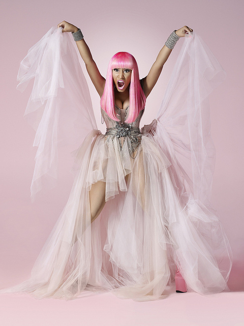 Nicki Minajs Pink Friday Promo Photos